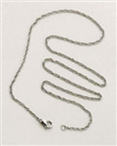 "18"" Stainless Steel Rope Chain"