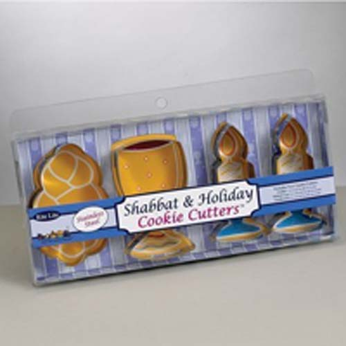 Shabbat and Holiday Cookie Cutters
