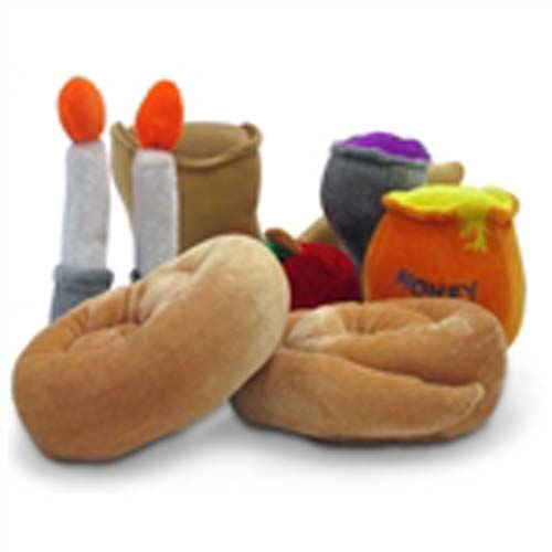 Children's Plush Rosh Hashanah Set