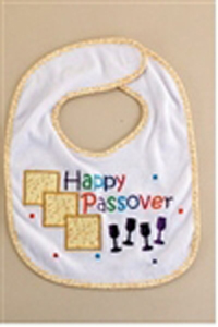 Happy Passover Bib