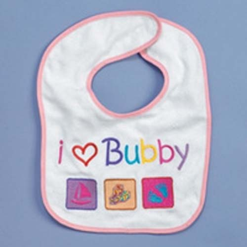 I Love Bubby Bib