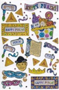 Purim Stickers