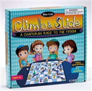 Climb and Slide: A Chanukah Racing Game