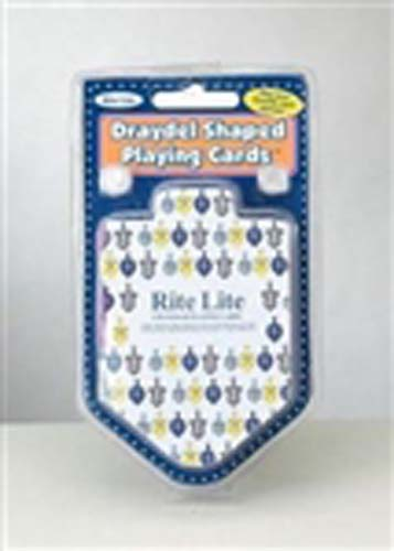 Draydel (Dreidel) Shaped Playing Cards