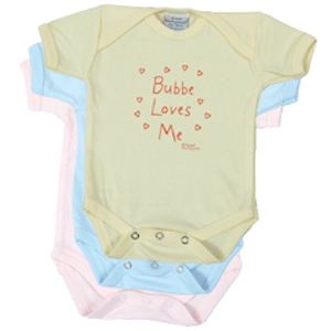 Bubbe Loves Me - Onesie and Tee