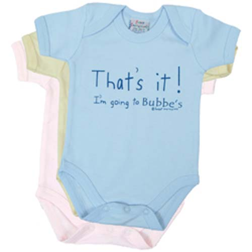 That's it! I'm going to Bubbe's - Onesie and Tee