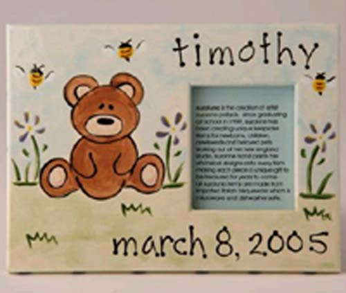 Personalized Picture Frame - Bear