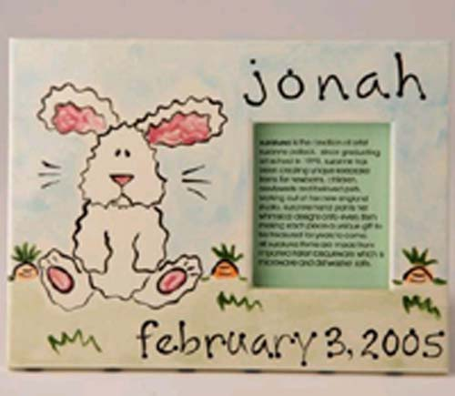 Personalized Picture Frame - Bunny