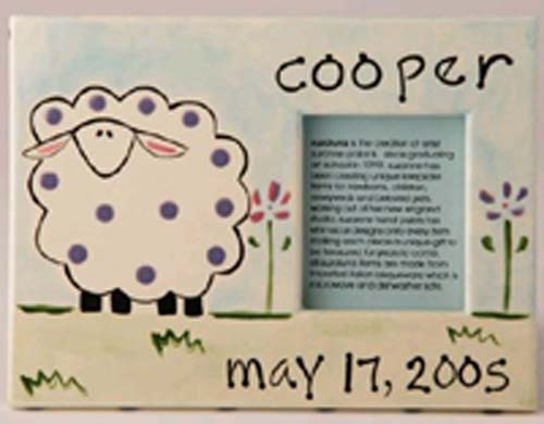 Personalized sheep Frame