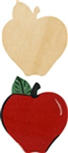 Rosh Hashanah Apple craft