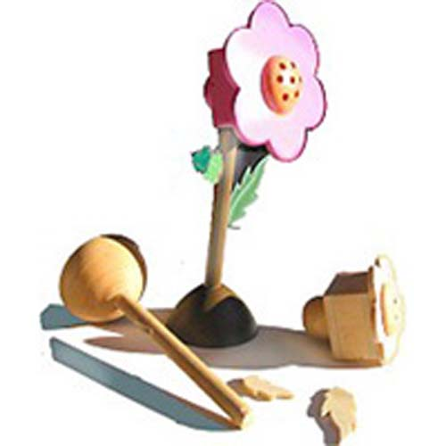 Flower Spice Box - Wood Craft