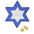 Star of David Wood Craft
