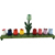 Flower Menorah - Wood Craft