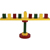 Geometic Menorah - Wood Craft