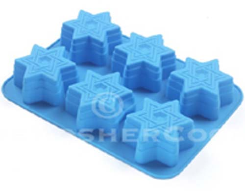 Star of David Silicone Cupcake Pan