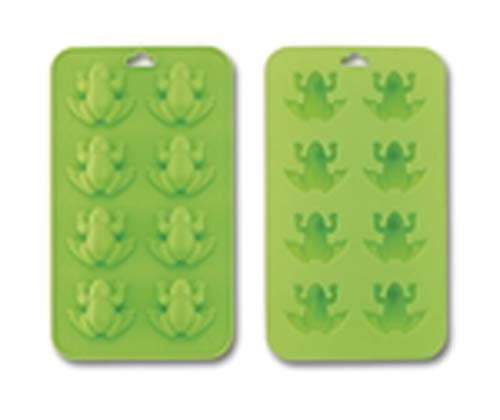 Sili Frog 3-in-1 mold for ice cubes, jello, or chocolate