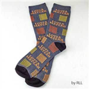 Lotza Matzah Adult Crew Socks for Passover