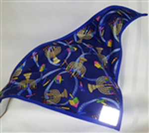 Hanukkah Dog Bandana XL