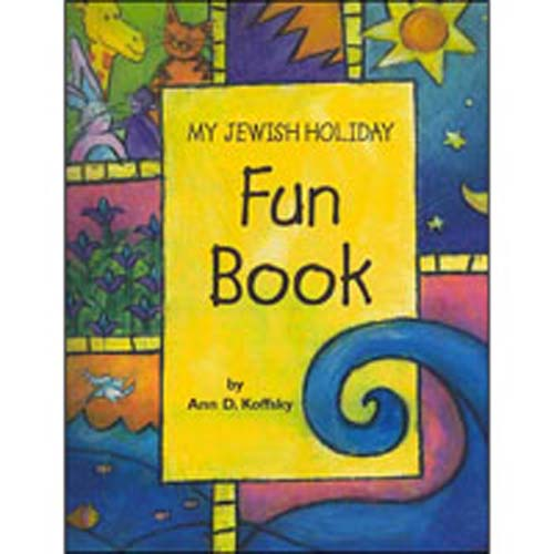 My Jewish Holiday Fun Book