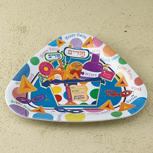 Happy Purim Plates