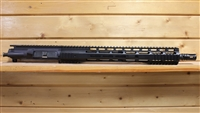 "16"" RXA .300 BLACKOUT KNURLED TUBE UPPER; SS 1:7 STRAIGHT FLUTED HBAR"