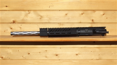 "LEFT HAND 16"" RXA 5.56 NATO MOD RAIL UPPER; SS 1:8 DIAMOND FLUTED BULL"