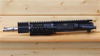 "LEFT HAND 7.5"" RXA 7.62x39 SHORT RAIL UPPER; SS 1:10 HBAR"