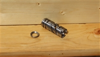 RXA STAINLESS STEEL SPIRAL PHANTOM FLASH HIDER 1/2-28 THREADS
