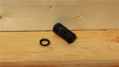 RXA BLACK A2 FLASH HIDER 1/2-28 THREADS