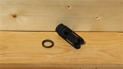 RXA BLACK PHANTOM FLASH HIDER 5/8-24 THREADS