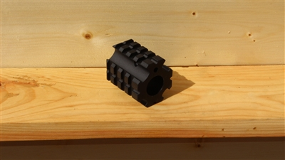 "RXA .750"" QUAD RAIL GAS BLOCK"