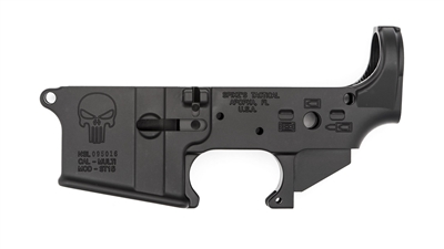 SPIKE'S TACTICAL AR15 STRIPPED LOWER RECEIVER- PUNISHER