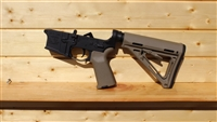RXA ASSEMBLED AR15 LOWER HALF  - FDE MAGPUL MOE CARBINE STOCK