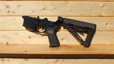 RXA ASSEMBLED AR15 LOWER HALF - ODG MAGPUL MOE CARBINE STOCK