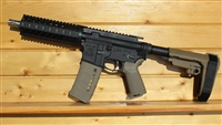 "7.5"" RXA 5.56 NATO TACTICAL PISTOL w/FLUTED BUFFER TUBE; SS 1:9 TWIST"