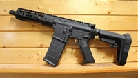 "9"" RXA .300 BLACKOUT ORANGE PISTOL w/SBA3 ADJUSTABLE BRACE; 4150 CMV 1:7 TWIST"