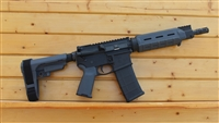 "10.5"" RXA 5.56 NATO GRAY MOE PISTOL w/SBA3 ADJUSTABLE BRACE; 4150 CMV 1:7 LIGHT"