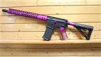 "16"" RXA 5.56 NATO PURPLE SLIM HONEYCOMB RIFLE; 4150 CMV 1:7 M4"