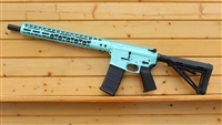 "16"" RXA 5.56 NATO ROBIN EGG BLUE SLIM M-LOK RIFLE;  4150 CMV 1:7 M4"