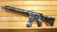 "16"" RXA 5.56 NATO KRYPTEK NEPTUNE HYDRO DIPPED SLIM M-LOK RIFLE;  SS MID-LENGTH 1:7 TWIST"