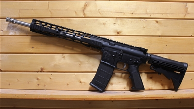 "16"" .223 WYLDE SLIM TACTICAL M-LOK RIFLE w/12"" HANDGUARD; SS 1:9 HBAR"