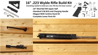 "16"" RXA 5.56 NATO MOD RAIL RIFLE BUILD KIT; SS 1:8 M4"