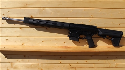 "20"" RXA .308 FREE FLOATING TUBE RIFLE; SS 1:10 STRAIGHT FLUTED HBAR"