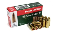 S&B 115gr 9mm AMMO -750 ROUND CASE