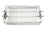 Rotisserie Spit Basket Stainless