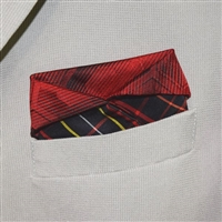 """Red Rover"" - Pocket Square"
