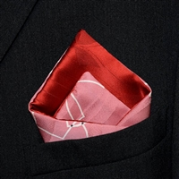 """Valentino"" - Reversible Pocket Square"