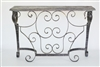 Solera - Iron and Wood Entry Hall Console Table