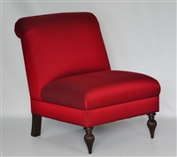 """Rosa"" Tight Back Slipper Chair, by Owners Select"