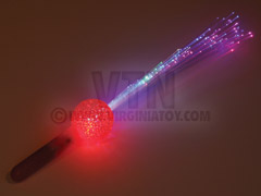 Crystal Ball Fiber Wand